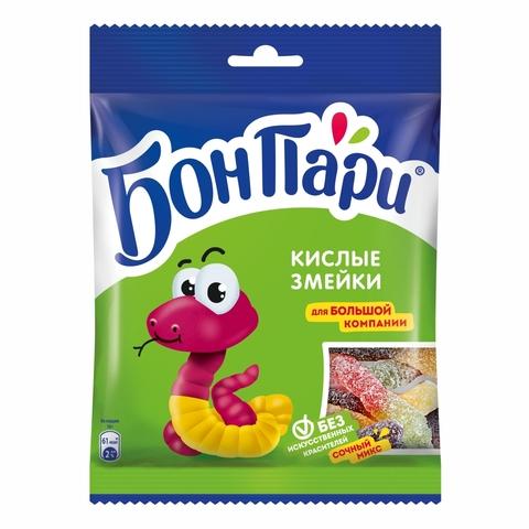 Мармелад БОН ПАРИ Кислые червячки 120 г Nestle РОССИЯ