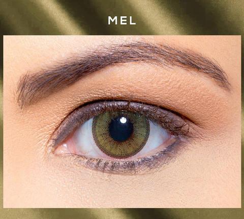 Зеленые линзы Solótica® Solflex NC - Mel