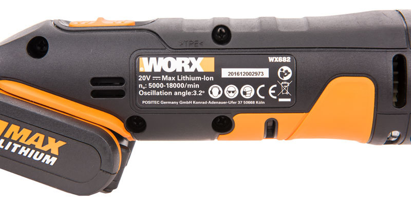 Реноватор аккумуляторный WORX WX682 20В