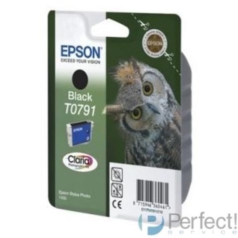 EPSON C13T07914010 Картридж T0791 черный, повышенной емкости P50/PX660 (11 мл)(cons ink)