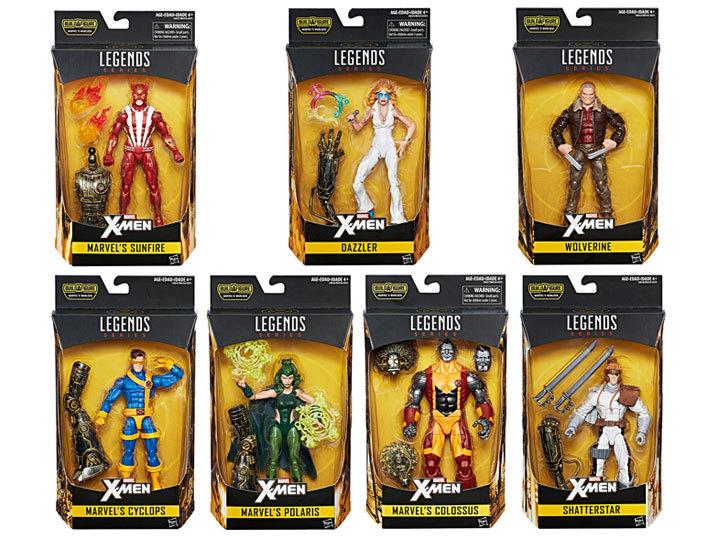 Марвел Легенд фигурки Люди Икс серия 02 упаковка