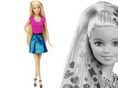 Кукла Барби Блондинка Модные прически
