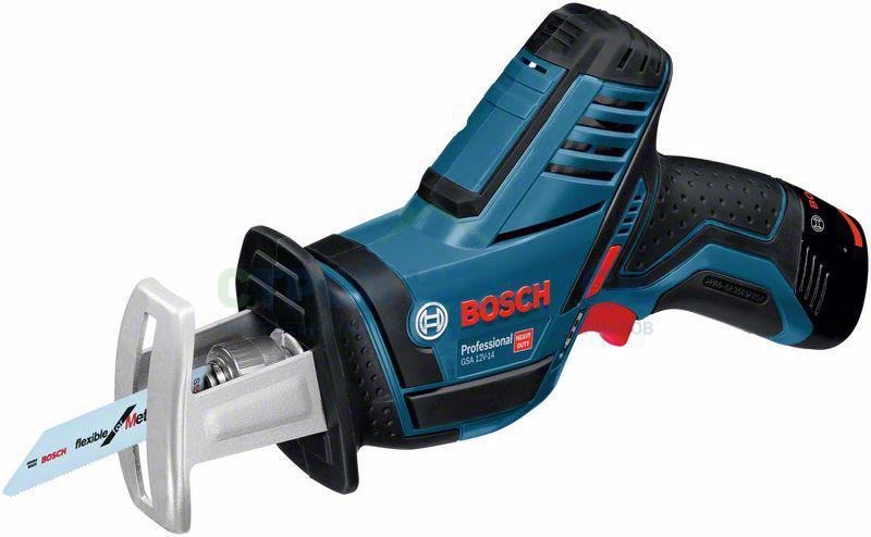 Пилы сабельные Аккумуляторная ножовка Bosch GSA 12V-14 (060164L902) 6db7a7a0f0f0edb23ed1ac5d19f8f886