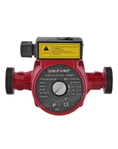 Насос циркуляционный - Unipump UPC 25-60 180, с гайками