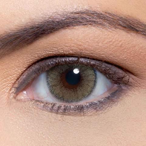 Solotica Natural Colors Ambar на карие глаза