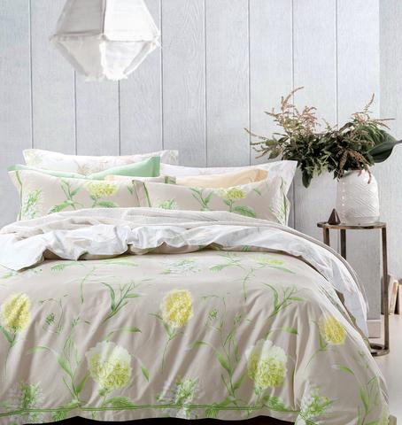Постельное белье Вивея зеленый