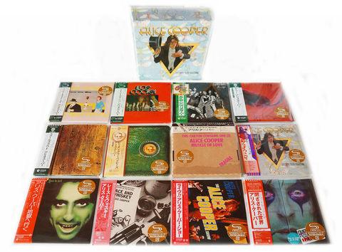 Комплект / Alice Cooper (12 Mini LP SHM-CD + Box)
