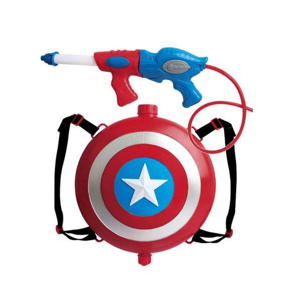 Мстители водный пистолет супергероев
