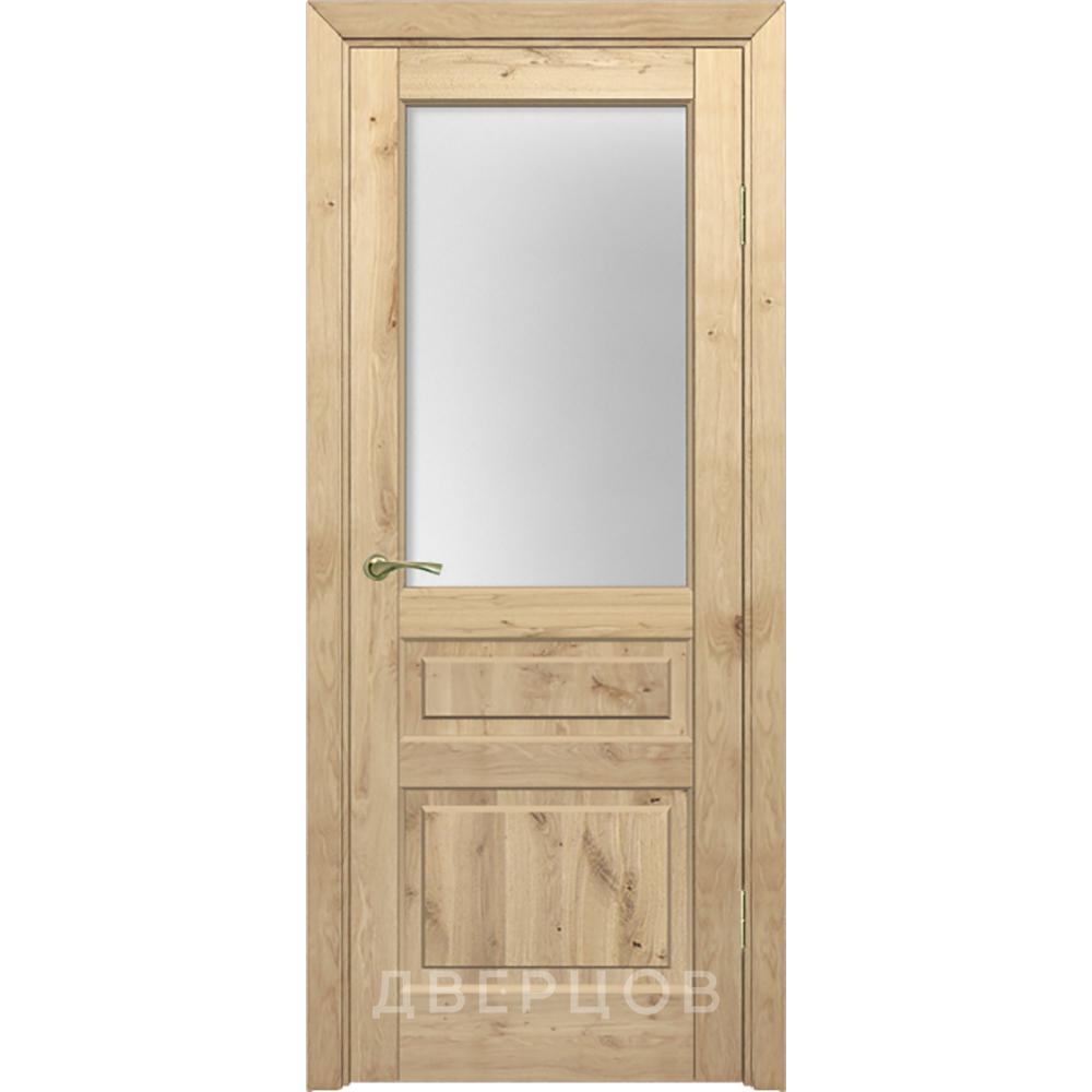 Двери из массива дерева Межкомнатная дверь массив дуба Дверцов Болонья ПО-1 под остекление сmodel-4-po-massiv-duba-dvertsov.jpg