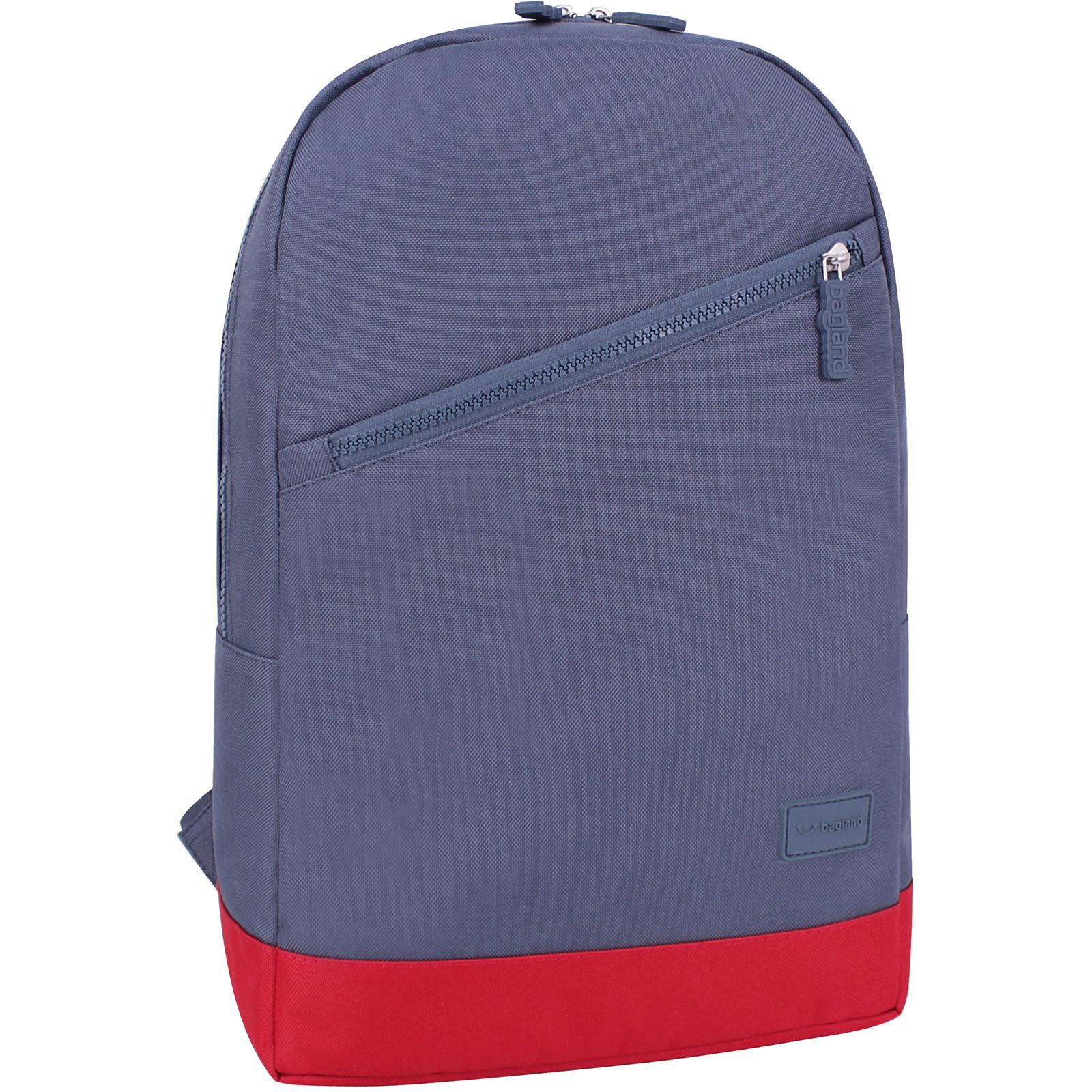 Городские рюкзаки Рюкзак Bagland Amber 15 л. серый/красный (0010466) IMG_5253.JPG