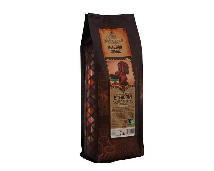Кофе в зернах Broceliande Ethiopia Organic, 1 кг