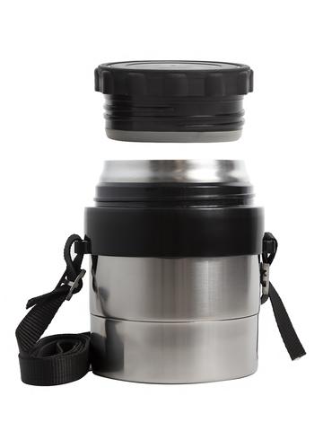 Термос для еды Амет DS Дорожный (0,5 литра) с широким горлом, на ремне