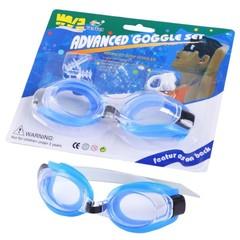 Üzgüçülük eynəyi \ Очки для плавания \ Swimming goggles ice blue