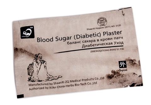 Пластырь для снижения сахара (Blood Sugar Diabetic Plaster)
