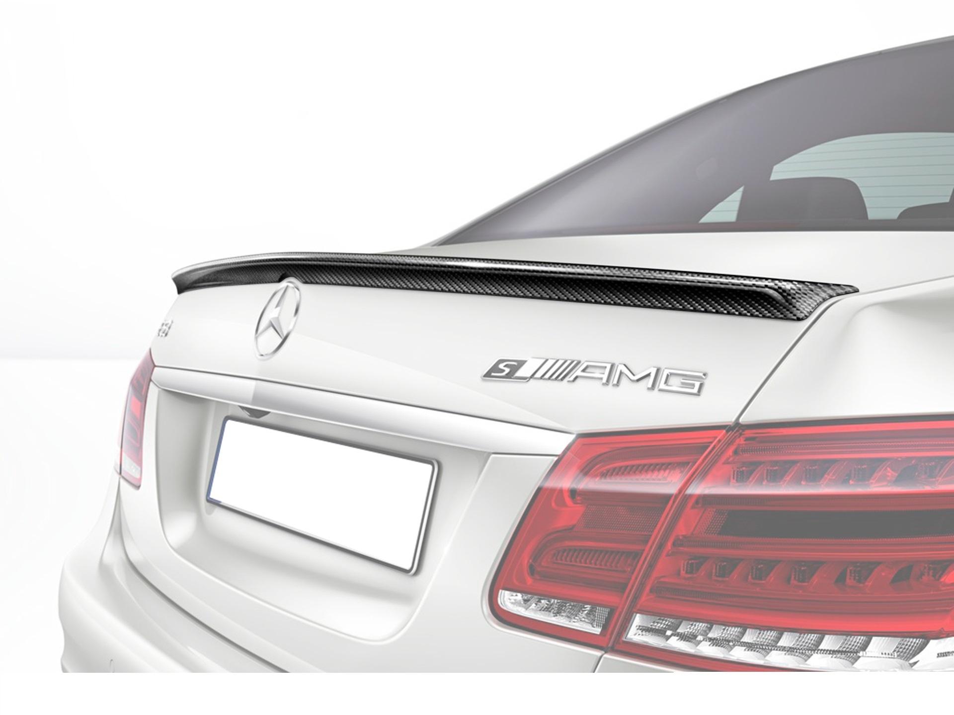 Карбоновый спойлер на багажник 63 AMG Style для Mercedes E-class W212