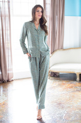 Пижама Mia-Mia оливковая