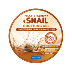Гель MILATTE Fashiony Snail Soothing Gel 300ml