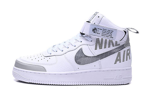 Nike Air Force 1 High 'White/Grey'