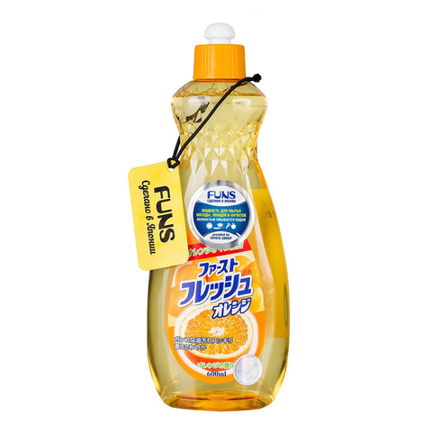 Жидкость для мытья посуды Апельсин 600 мл