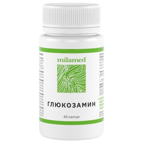 Глюкозамин Milamed, 40 капсул