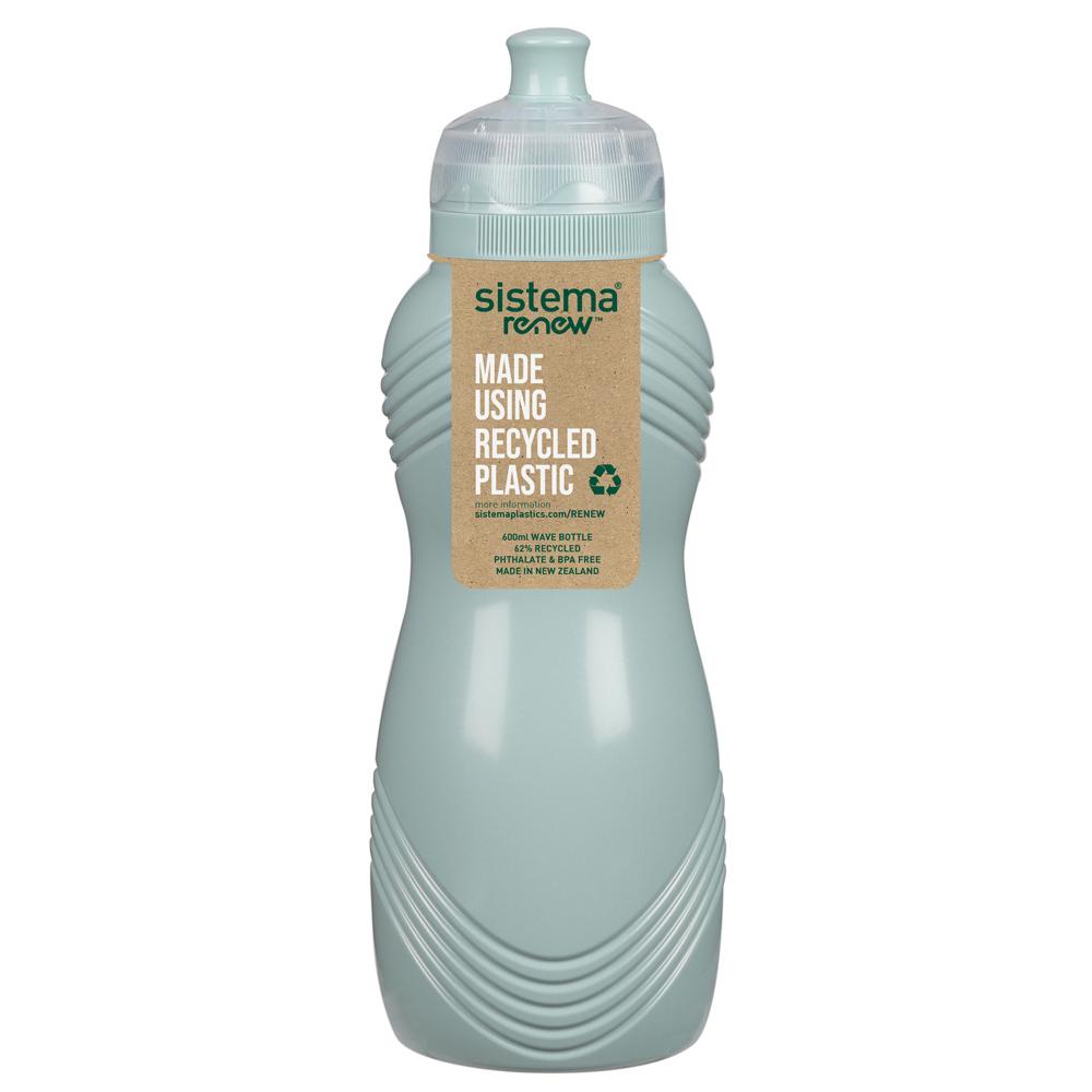 """Бутылка для воды Sistema """"Renew"""" 600мл, цвет Светло-зеленый"""