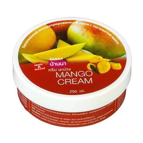 Крем для тела Banna с экстрактом тропического манго 250 мл
