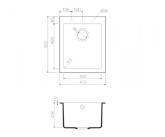 Схема Omoikiri Bosen 41-SA