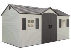 Пластиковый сарай-гараж LifeTime 15x8