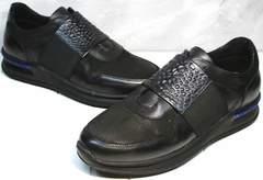 Купить модные кроссовки мужские Luciano Bellini 1087 All Black