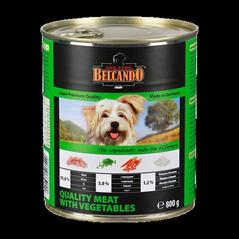Belcando Quality Meat with Vegetables Консервы для собак с мясом и овощами