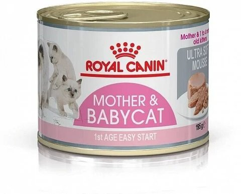 Корм для котят Royal Canin BabyCat 195 г (мусс)