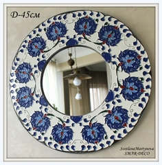 Зеркало интерьерное, диаметр 45см