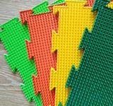 Массажный коврик Трава мягкая модульный коврик-пазл