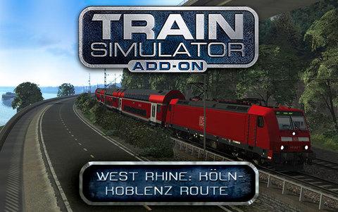 Train Simulator: West Rhine: Köln - Koblenz Route Add-On (для ПК, цифровой ключ)