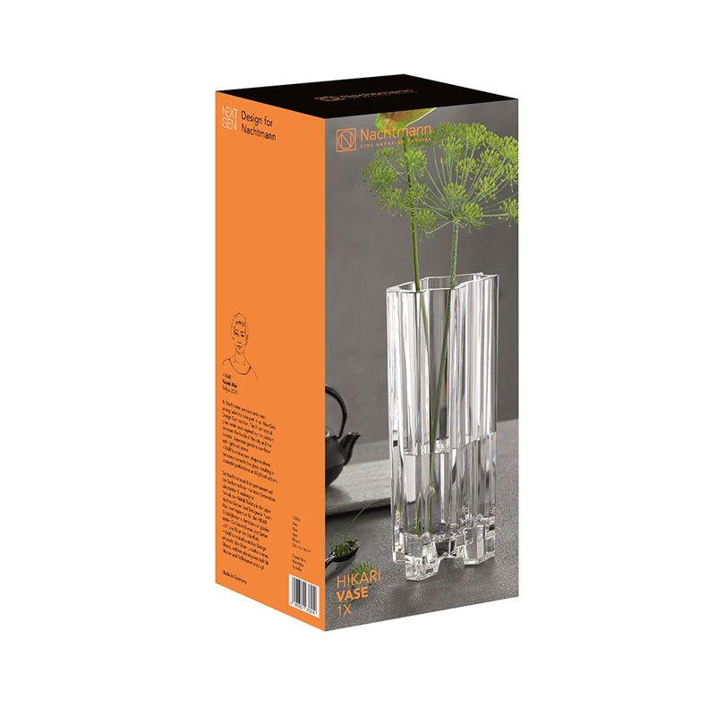 Купить хрустальную вазу для цветов 27,6 см