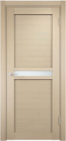Дверь Венеция 04 (беленый дуб, остекленная экошпон), фабрика Casa Porte