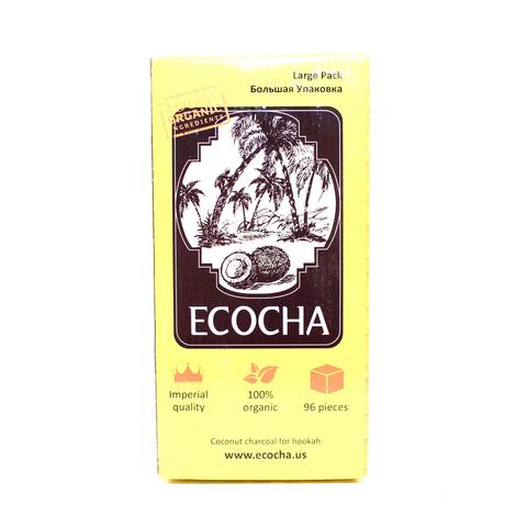 Уголь Ecocha (96шт/уп)
