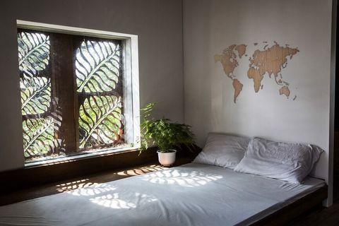 Карта мира Wall Decoration EXCLUSIVE 280x170 cm (Американский Орех)