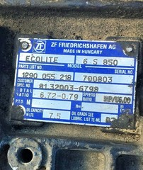 Кнтрактная коробка передач MAN TGL 6S850 из Германии, в отличном сотояние   У нас Вы можете купить КПП на МАН ТГЛ/ТГА/ТГС по самым выгодным ценам