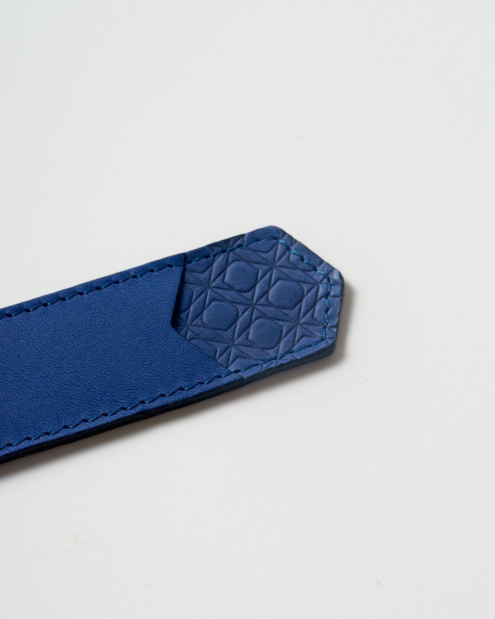 Ajoto Pen Pouch Cobalt - чехол кожаный: синий