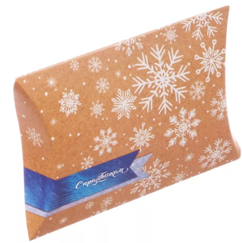 060-0129 Коробка складная фигурная «С Праздником», 19 × 14 × 4 см
