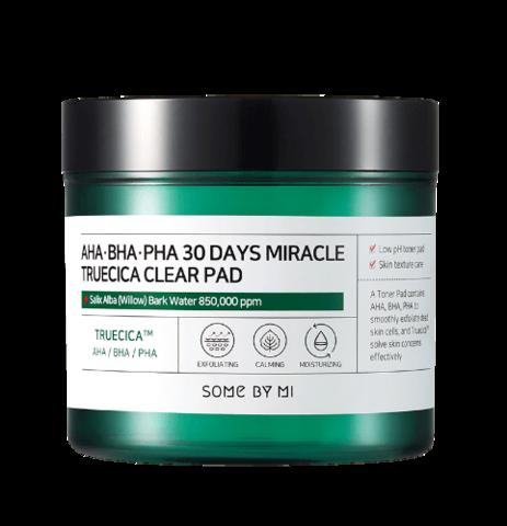 SOME BY MI AHA BHA PHA 30Days Miracle Truecica Clear Pad