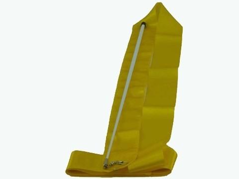 Лента гимнастическая. Цвет ленты: жёлтый: АВ220YЕ
