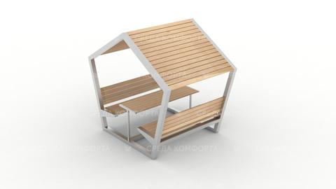 Скамейка с навесом SCAM0096
