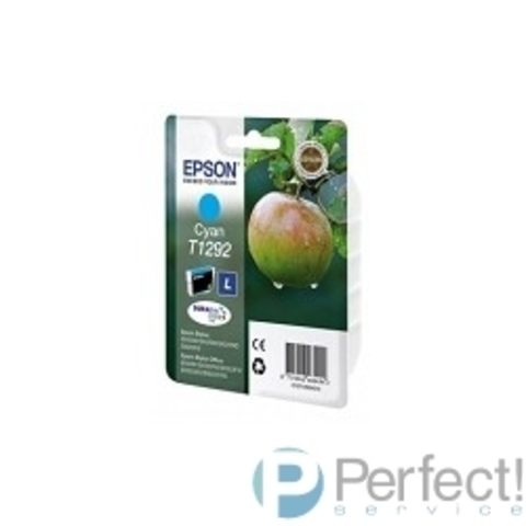 EPSON C13T12924011/4010/4012   Картридждля SX420W, SX425W,  SX525WD,  SX620FW, BX305F,  BX305FW,  BX320FW,  BX525WD,  BX625FWD,  голубой, L (cons ink)
