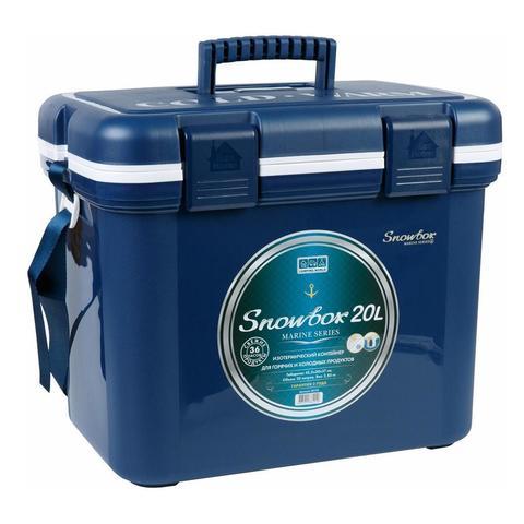 Изотермический контейнер (термобокс) Camping World Snowbox (20 л.), темно-синий