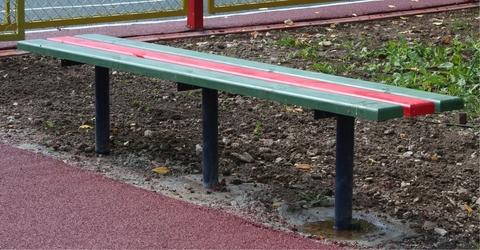 Скамейка уличная бетонируемая 2м