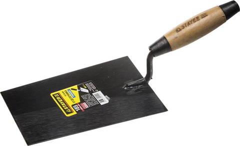 Кельма отделочника STAYER с деревянной усиленной ручкой КО