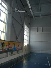 Консоль настенная для канатов и шестов, вынос 2 м. (на 2 каната).