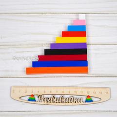 Цветные счетные палочки Кюизенера (3-8 лет)